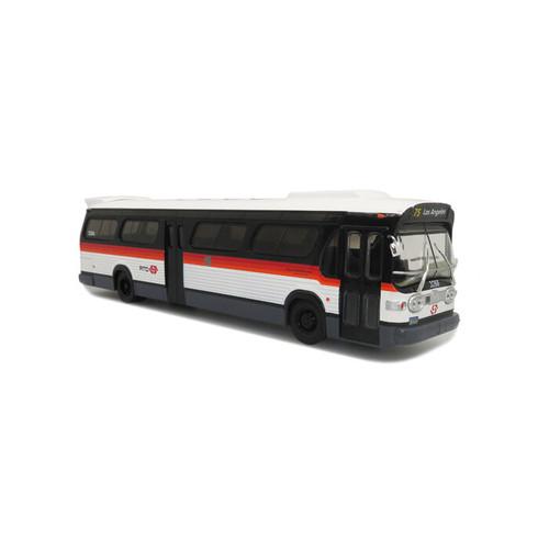 Iconic Replicas O 43-0293 GM TDH5303 Bus, Los Angeles RTD Bandit Scheme (1:43)