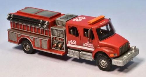 Showcase Miniatures N 140 F-M2 Crew Cab Pumper Kit