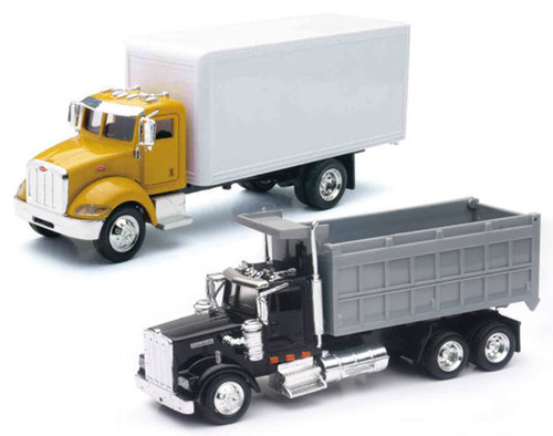 New Ray Toys O AS-15533A-SET-F Utility Truck 2-Piece Hauling Set (1:43)