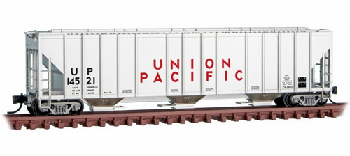 Micro-Trains N 09900300 3-Bay Covered Hopper, Union Pacific #14521