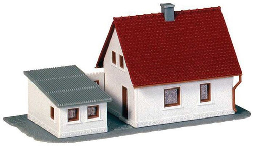 Faller N 232531 Development Tract House with Garage Kit