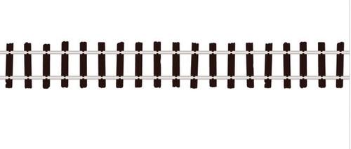"Peco On30 SL500 Code 100 Flex-Track 36"" with Wooden Ties (12)"