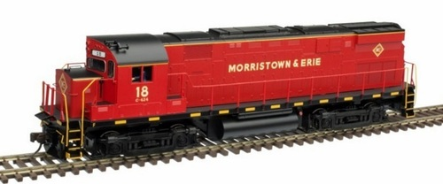 Atlas HO 10003296 Gold Series C424 Phase 2, Morristown and Erie #19