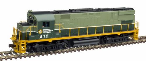 Atlas HO 10003301 Gold Series C425 Phase 2, BC Rail #809