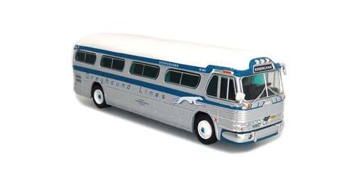 "Iconic Replicas HO 87-0298 1958 GM PD4104 Bus, Greyhound Birmingham ""Freedom Riders"" (60th Anniversary Edition)"
