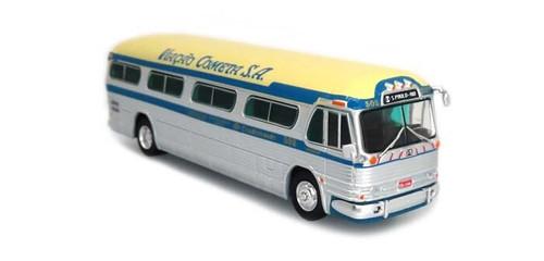 Iconic Replicas HO 87-0302 1958 GM PD4104 Bus, La Cometa (Sao Paulo, Brazil)
