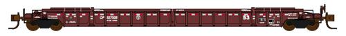Jacksonville Terminal Company N 772022 NSC 53' Well Car, CP Rail #527578
