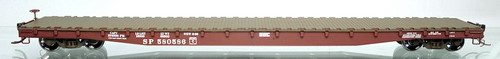 Wheels of Time HO 40143 Gunderson 62' Flat Car, Southern Pacific #580614