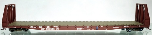 Wheels of Time HO 40155 ACF 62' Bulkhead Flat Car, Southern Pacific #509706