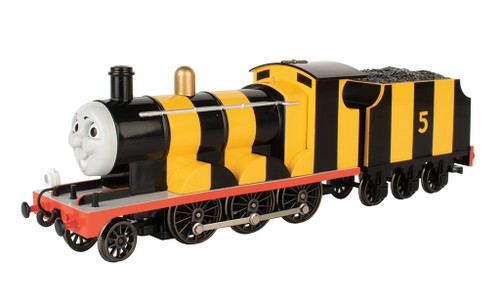 Bachmann HO 58821 Thomas and Friends Locomotive, Busy Bee James with Moving Eyes