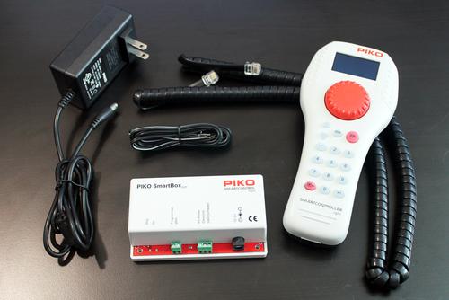 PIKO 55017 SmartControl Light Basic Set Digital Command Control System 120V 2.0A