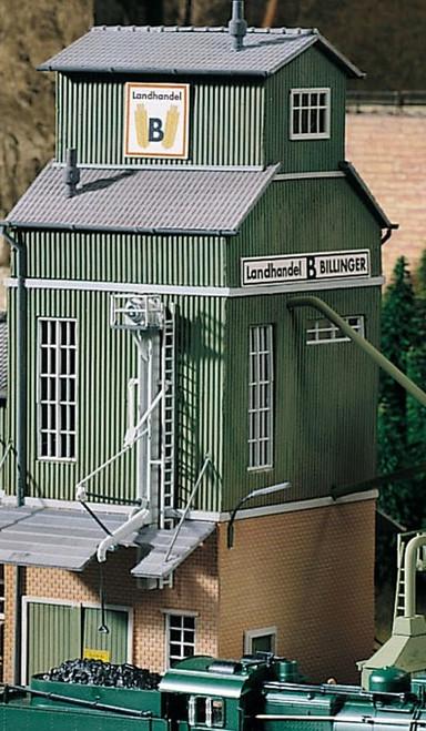 PIKO HO 61114 Billinger's Co-Op Elevator Kit