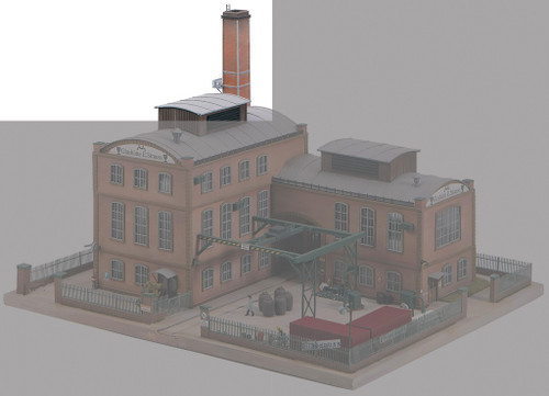 PIKO HO 61118 Factory Chimney Kit