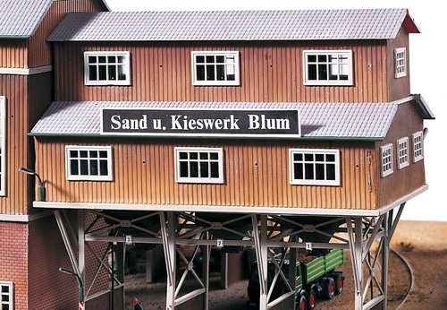 PIKO HO 61123 Sand Works Loading Bridge Kit