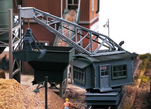 PIKO HO 61126 Sand Works Unloading Crane Kit