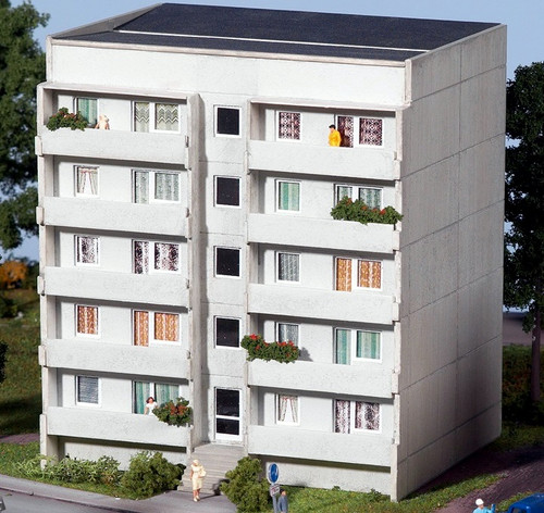 PIKO HO 61146 Prefab Apartment Block Basic Set Kit
