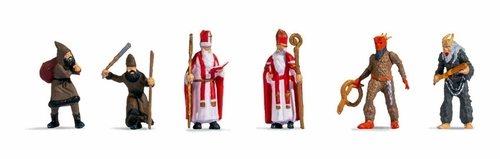 Noch HO 15929 Santa Claus and Knecht Ruprecht (6)