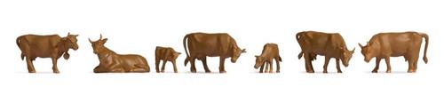 Noch HO 18216 Brown Cows (9)