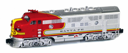 American Z Line Z 63001-5 EMD F7A, Atchison Topeka and Santa Fe #39