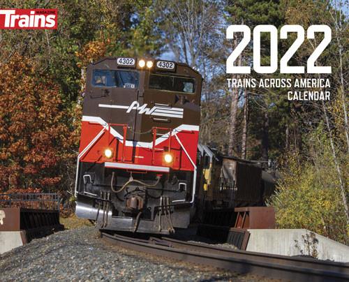 Kalmbach Publishing 68199 Trains Across America 2022 Calendar
