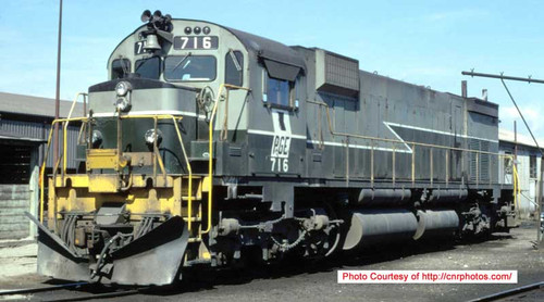 Bowser HO 24850 M630, Pacific Great Eastern #716