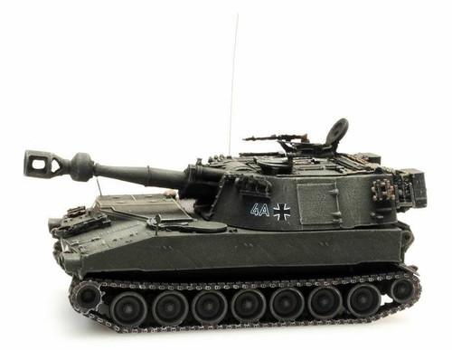 Artitec HO 6870093 German M109G BW Tank, Yellow/Olive