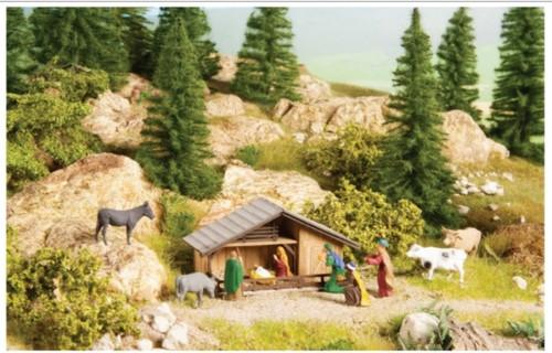 Walthers SceneMaster HO 949-1402 Nativity Scene