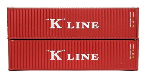 Jacksonville Terminal Company N 405099 40' High Cube Containers, K-Line (2)