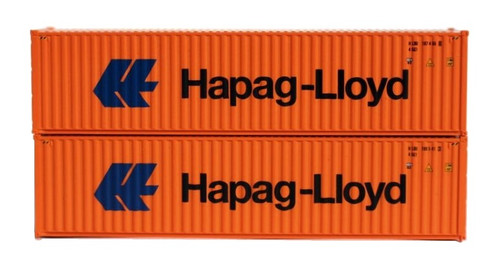 Jacksonville Terminal Company N 405164 40' High Cube Containers, Hapag-Lloyd (2)