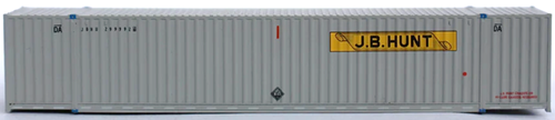Jacksonville Terminal Company N 535028 53' High Cube 6-42-6 Container, JB Hunt
