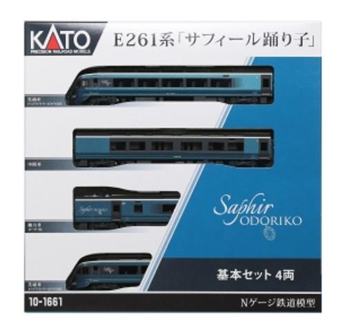 Kato N 101661 Series E261 4-Car Basic Set, Saphir Odoriko