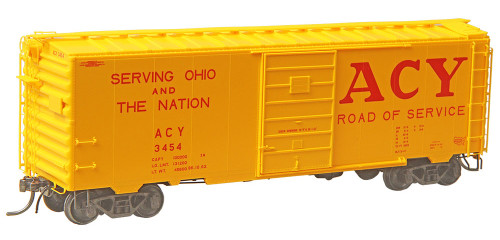 Kadee HO 4331 40' PS-1 Box Car, Akron Canton and Youngstown #3454