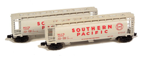Full Throttle Z FT1066 ACF 51' Cylindrical Hopper Set #1, Southern Pacific (2-Pack)
