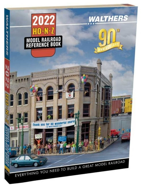 Walthers 913-222 2022 HO, N and Z Reference Book