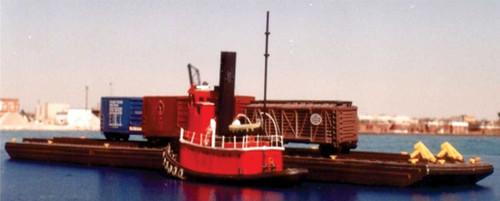 Sylvan Scale Models N N2066 2-Track Carfloat Kit