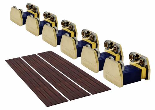 DCC Concepts O DCMRRO6 Premium Edition Rolling Road, 6 Axles