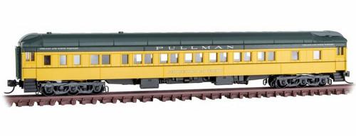"Micro-Trains N 14200430 83' Heavyweight Sleeper Car, Chicago and North Western ""Georgetown University"""