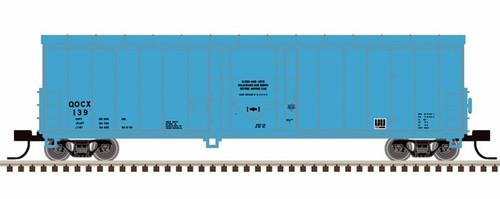 Atlas N 50005153 NACC 50' Smoothside RBL Box Car, QOCX #139