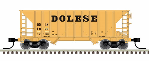 Atlas N 50005378 Greenville 100-Ton Hopper, Dolese #1009