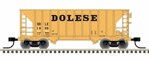 Atlas N 50005379 Greenville 100-Ton Hopper, Dolese #1011