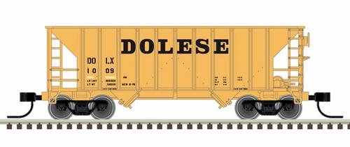 Atlas N 50005380 Greenville 100-Ton Hopper, Dolese #1018
