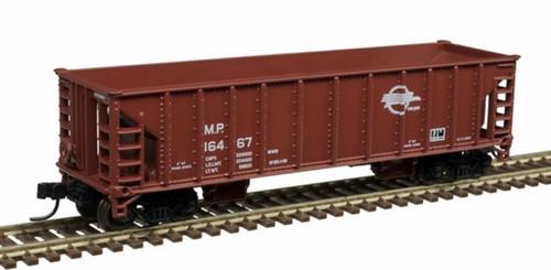 Atlas N 50005480 41' Ballast Hoppers, Missouri Pacific (3)