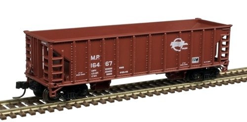 Atlas N 50005481 41' Ballast Hopper, Missouri Pacific #16671