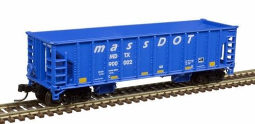 Atlas N 50005483 41' Ballast Hopper, Mass DOT #900014