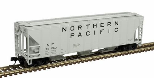 Atlas N 50005547 PS-4427 Covered Hopper, Northern Pacific #76201