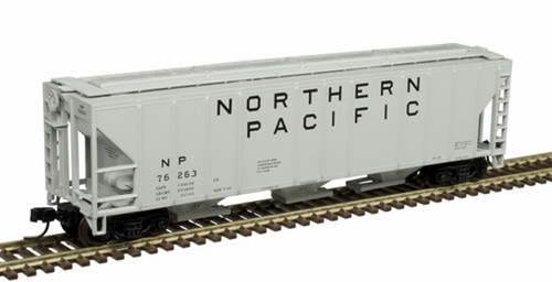 Atlas N 50005548 PS-4427 Covered Hopper, Northern Pacific #76217