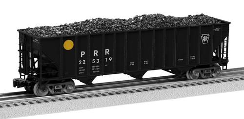 Lionel O 2126158 100-Ton Hopper Set B, Pennsylvania Railroad (2)