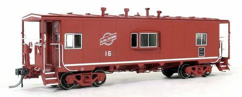 Tangent Scale Models HO 60115-01 Bay Window Caboose, Alton and Southern #16