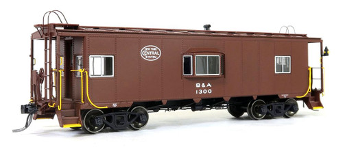 Tangent Scale Models HO 60121-01 Bay Window Caboose, Boston and Albany #1300