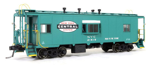 Tangent Scale Models HO 60119-02 Bay Window Caboose, New York Central #21619
